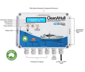 CleanAHull Ultrasonic Antifouling
